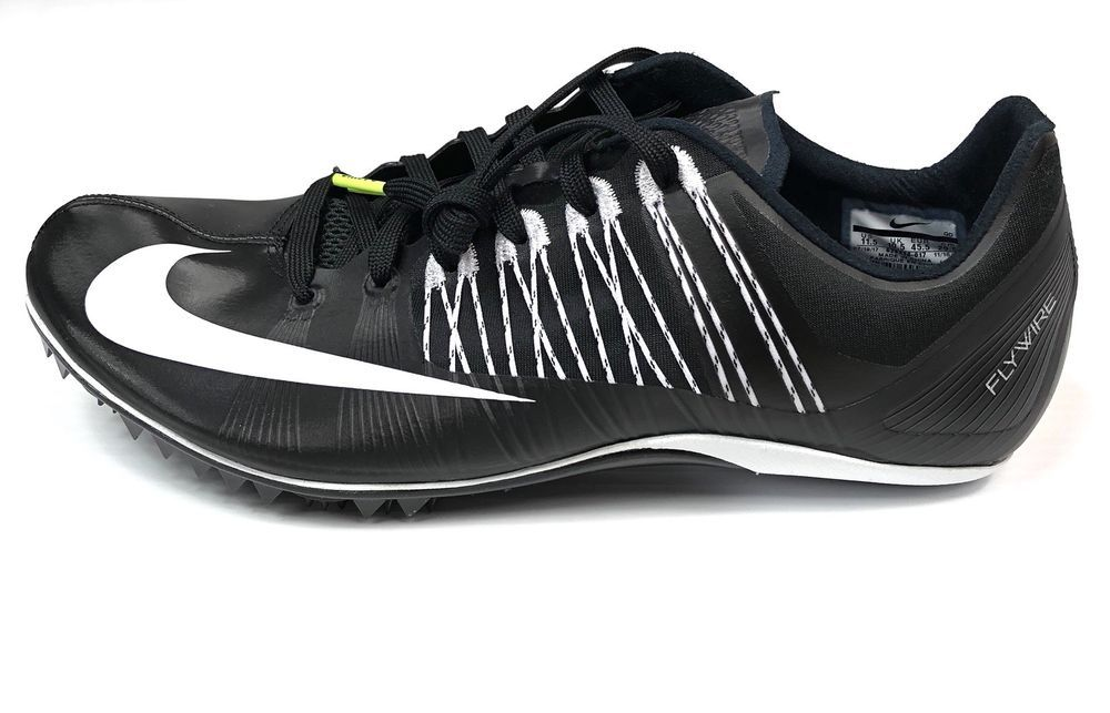 wholesale dealer 8001f c946a Nike Zoom Celar 5 Mens Track and Field Spikes Black White Size 11.5  629226-017  eBay