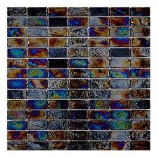 Diesel Black Brick Mosaic