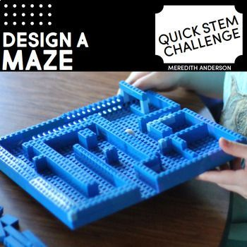 Maze STEM Challenge  Quick STEM Activity