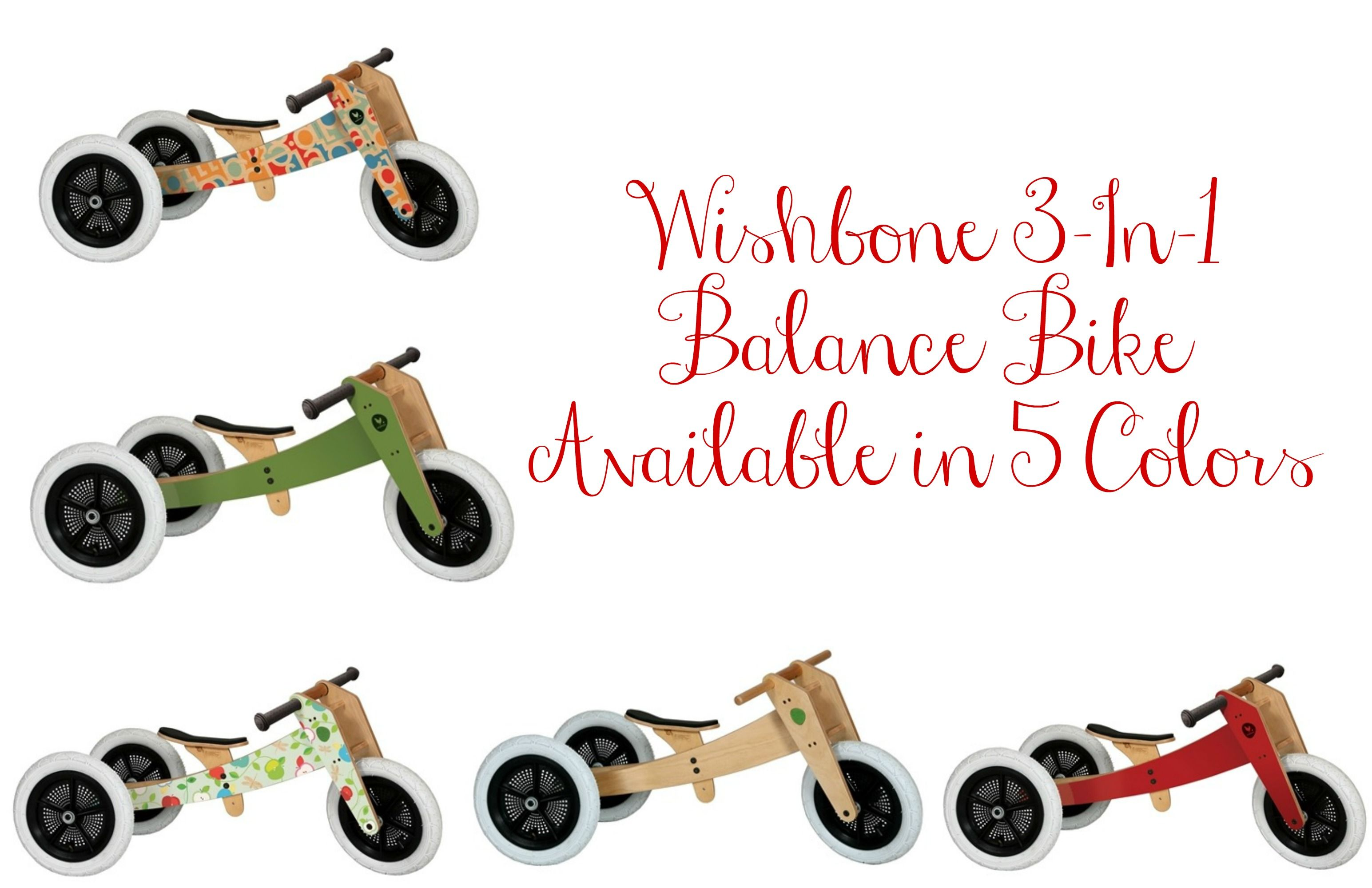 Wishbone 3 In 1 Balance Bike Giveaway Incahoots Giveaway