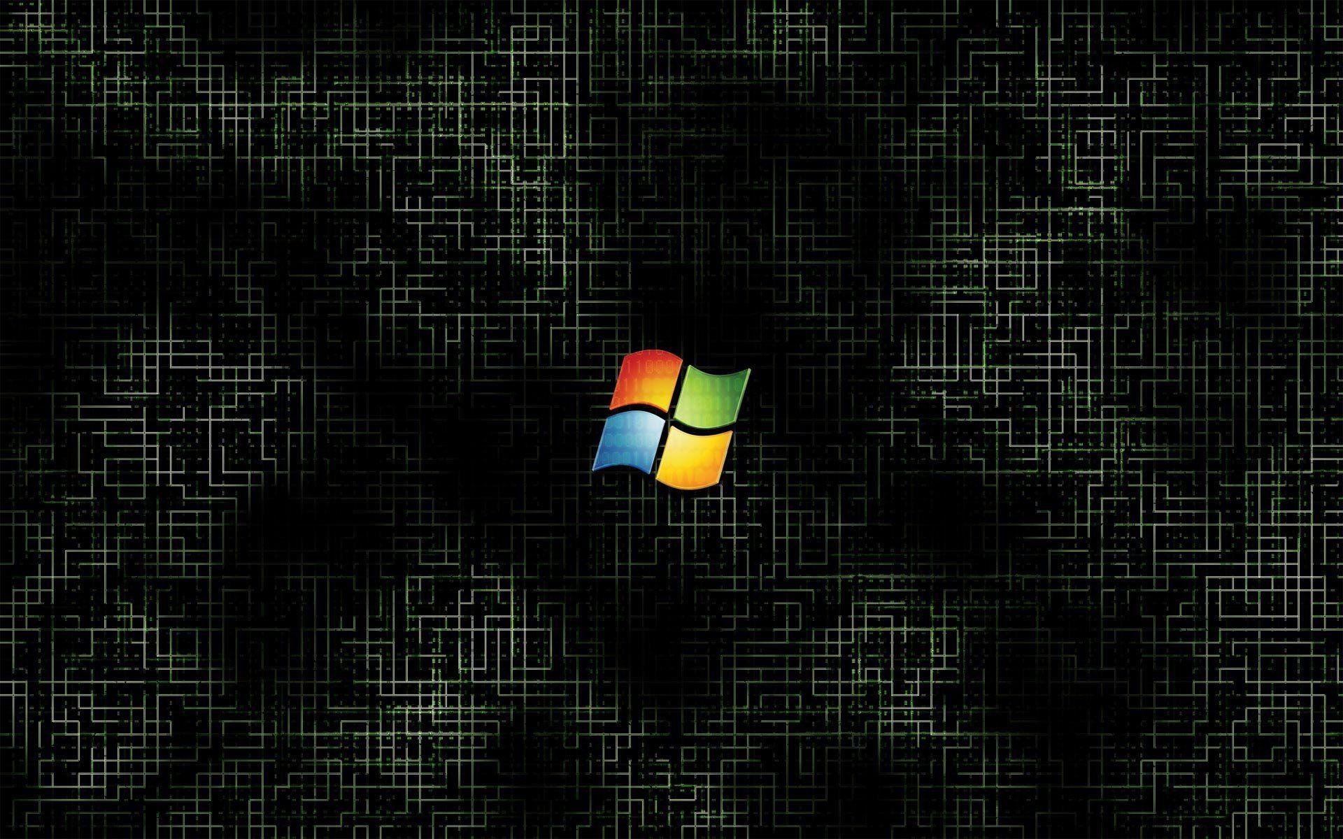 Windows 7 Black 598077 Widescreen Desktop Mobile Iphone