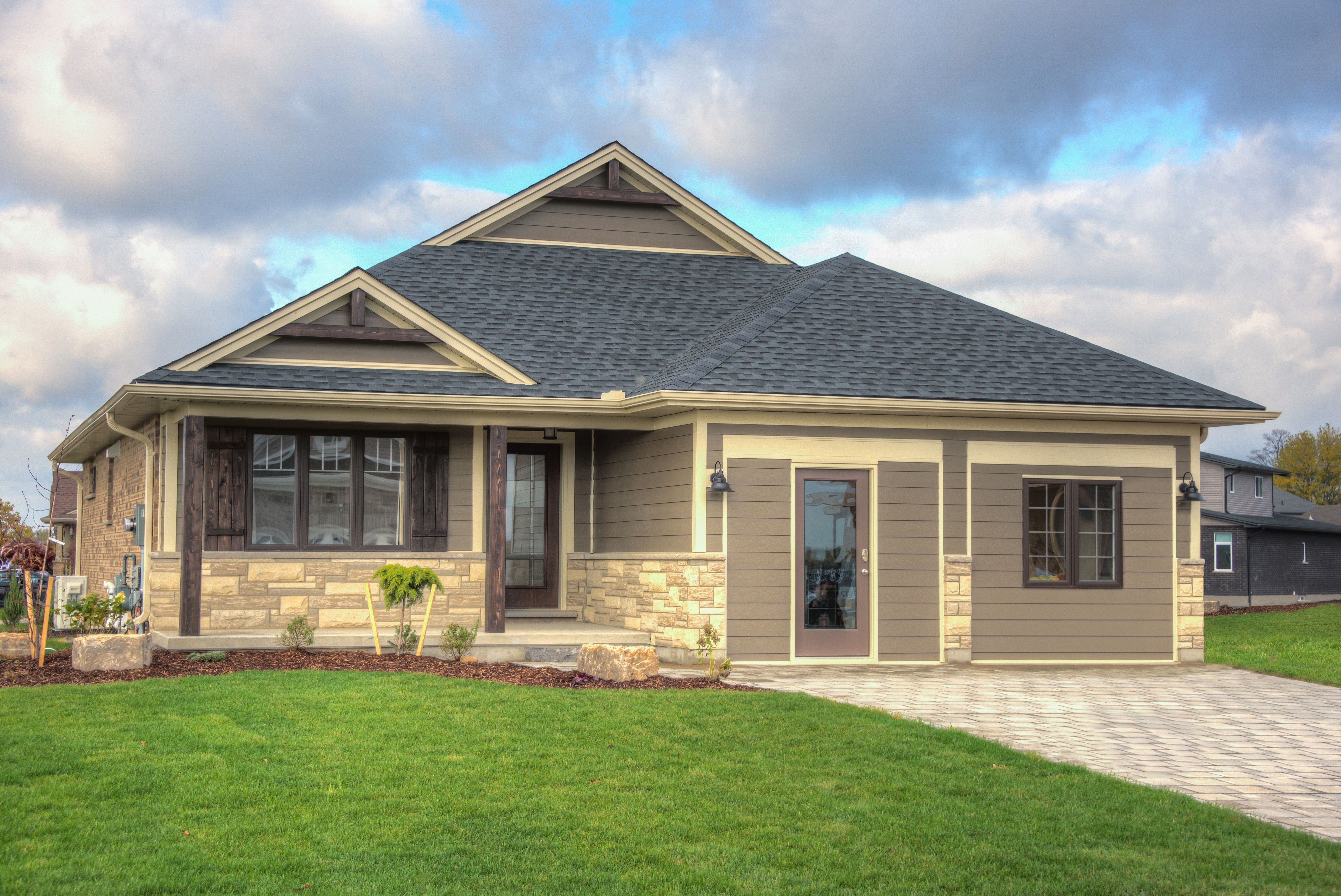 The Rosewood Model Homes Home House Exterior