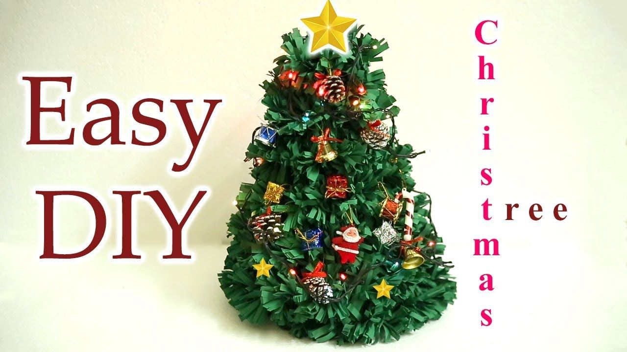 Hi Friends Welcome To Pink Diary Channel In This Video Im Going To Show How To Make Ch How To Make Christmas Tree Diy Christmas Tree Diy Crafts Videos