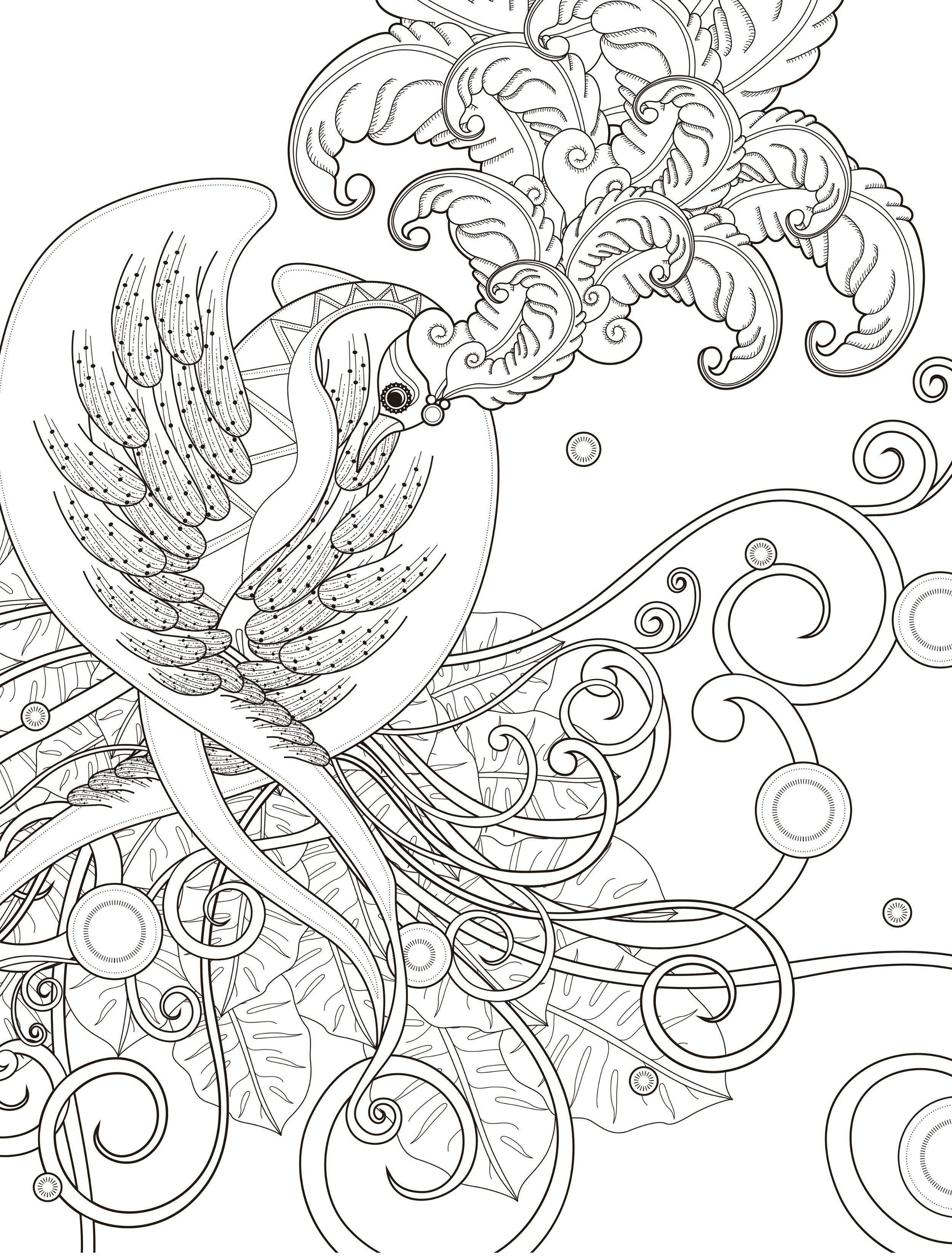 Coloring pages wedding theme - 20 Gorgeous Free Printable Adult Coloring Pages