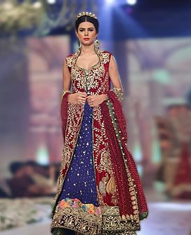 Superb Pakistani Indian Bridal Gown Manchester London UK Wedding Reception Walima Event Bridal Dresses