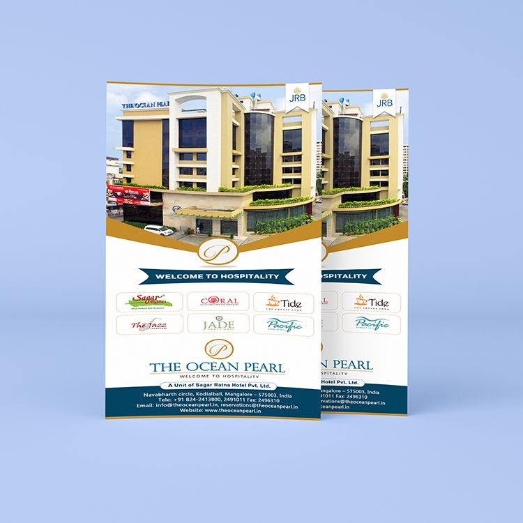 Handbill Design For The Ocean Pearl Mangalore Ideated
