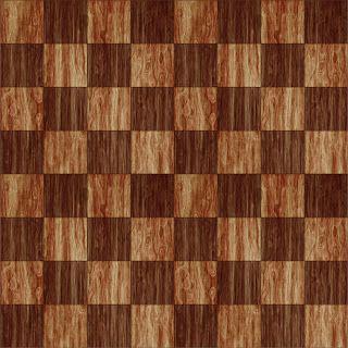 Morandi Sisters Microworld: Printable Wallpapers - Wood Chess-Style