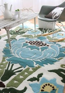 Large Pattern Floor Covering