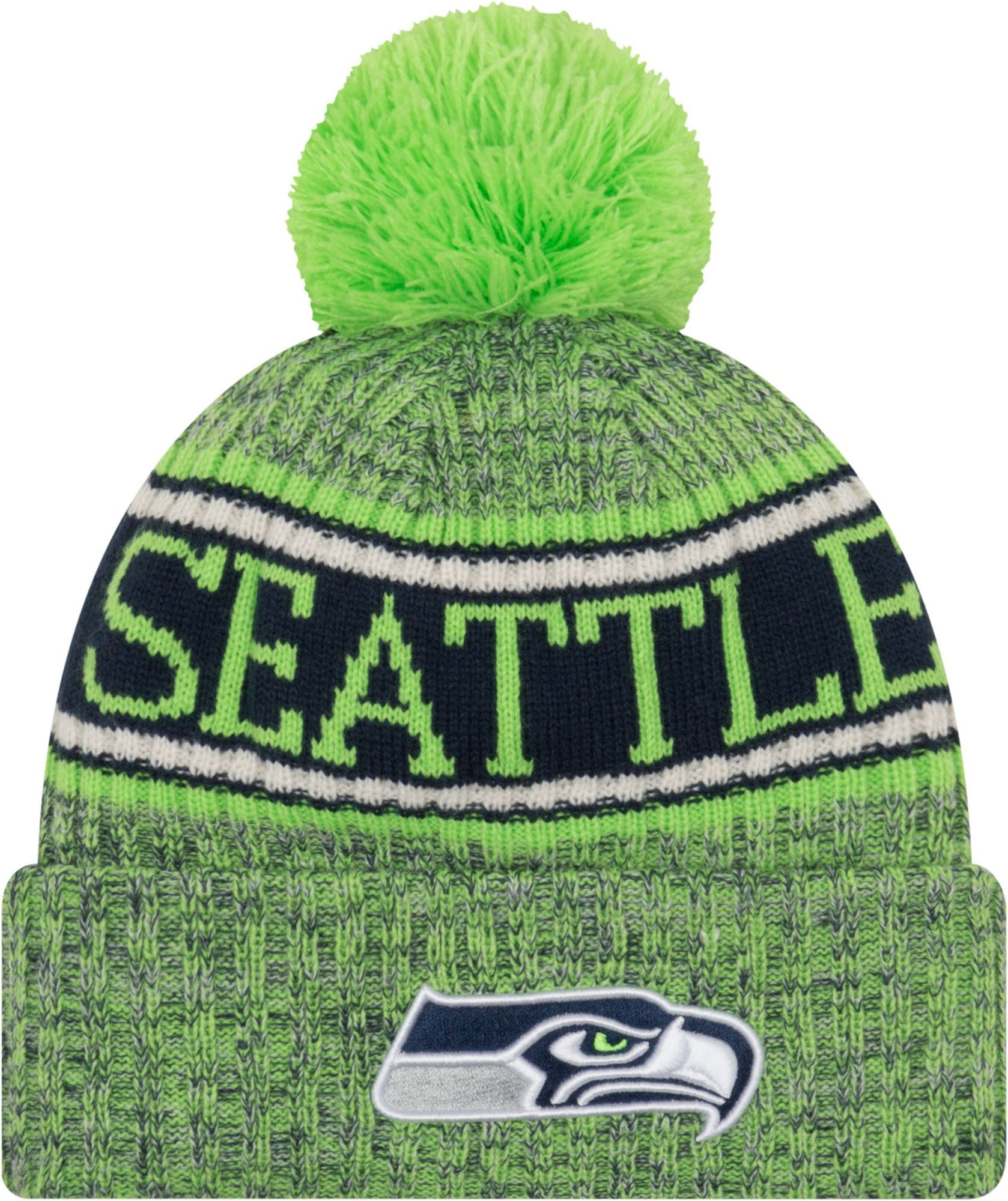fashion style release date: beauty New Era Men's Seattle Sideline Cold Weather Reverse Green Sport ...