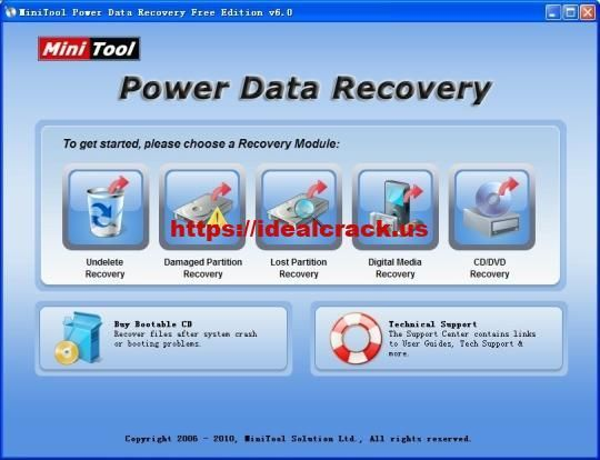 minitool power data recovery with crack