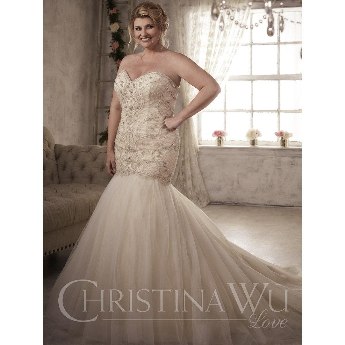 Christina wu wedding dresses  Find at Evaus Bridal Center evasbridalcenter  House of
