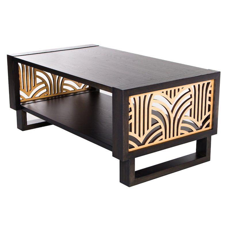 Art Deco Coffee Table Gray Natural Art Deco Coffee Table Art Deco Furniture Coffee Table