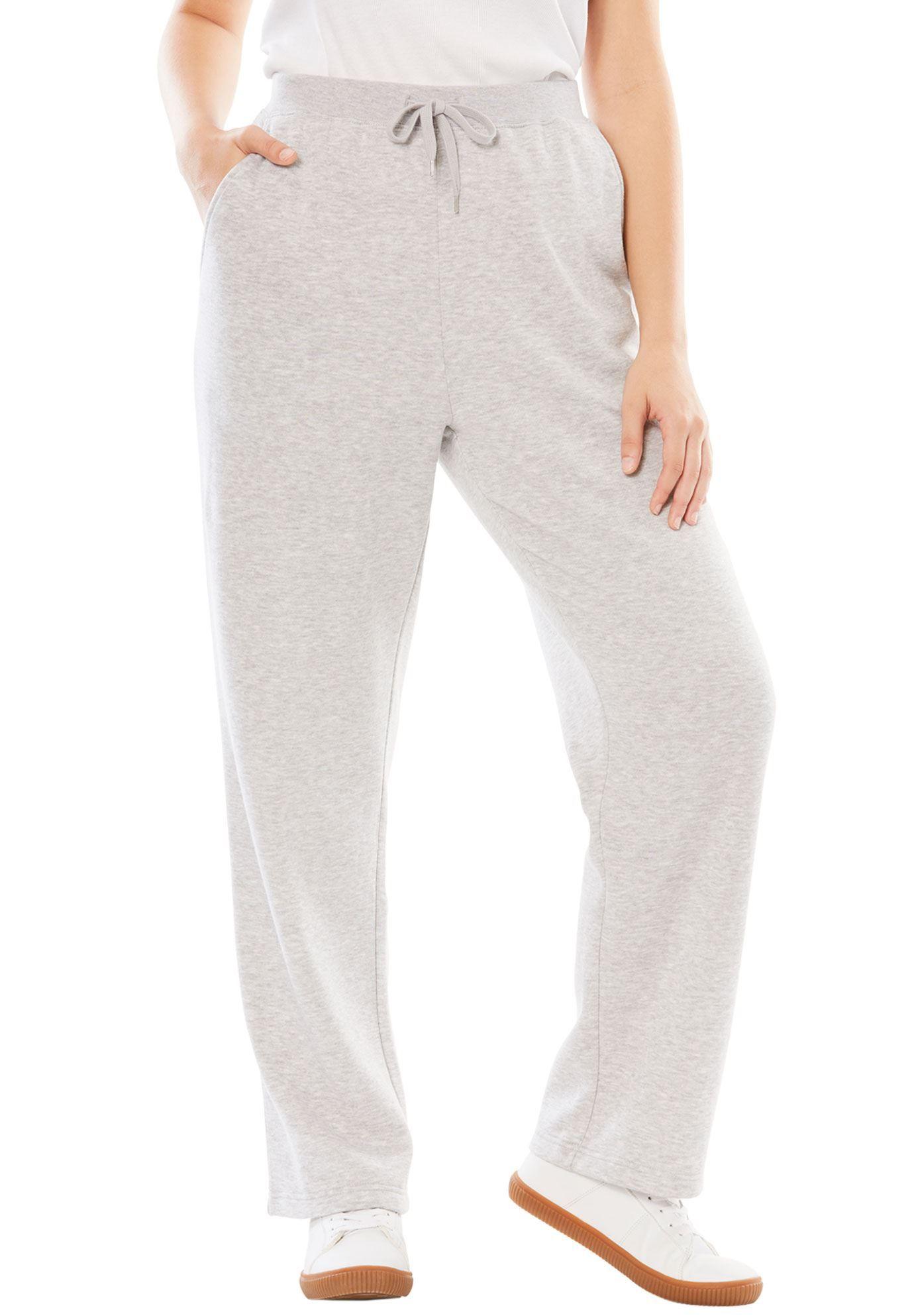 737bca1b384 Petite Sweat Pants in Easy Fleece - Women s Plus Size Clothing ...