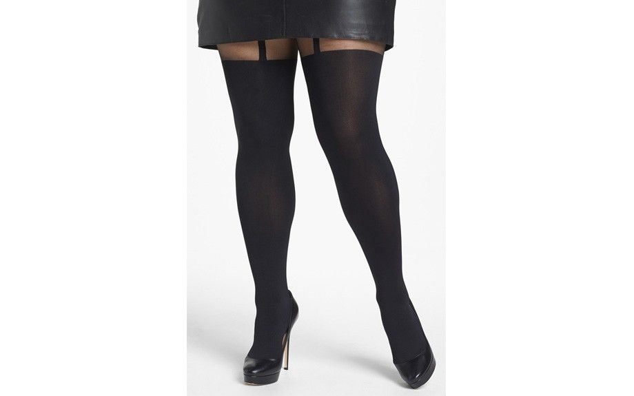 0a1291156 CURVY + PLUS  Perfect Plus Size Hosiery - Photos - EBONY