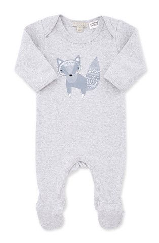 Wilson and Frenchy baby fox growsuit with feet  d318fa06f