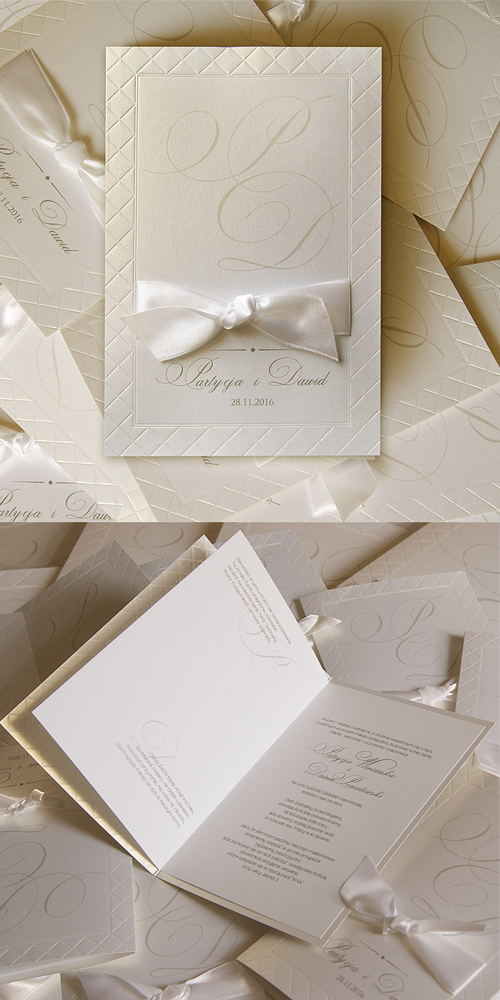 wedding invitation tied with ribbon%0A wedding cards  invitation  classical  ribbon