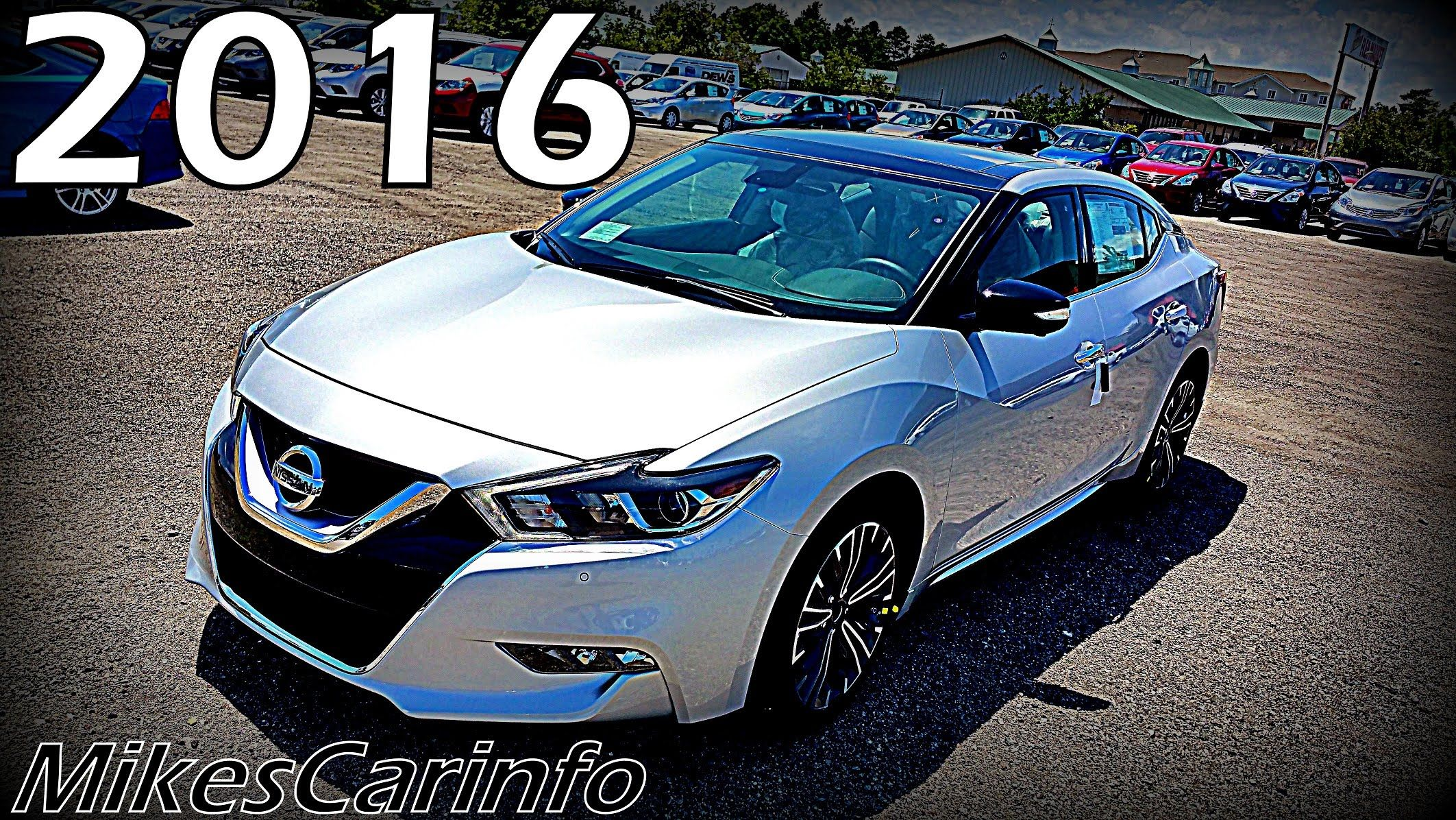2016 Nissan Maxima Ultimate In Depth Look Car Stuff