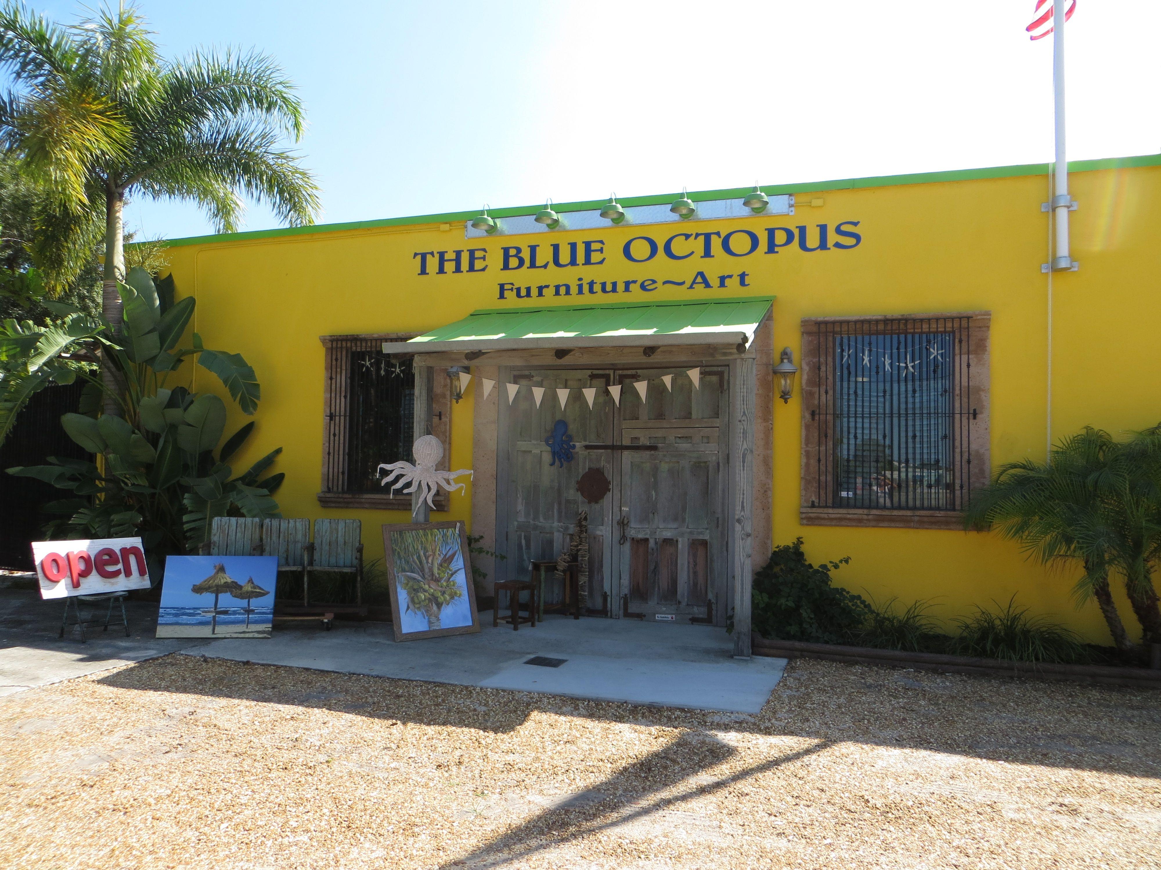 The Blue Octopus Vero Beach Florida Vero Beach Indian River County