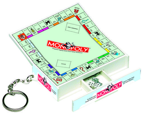 Amazon.com : Hasbro Monopoly Game Keychain : Board Games : Toys & Games