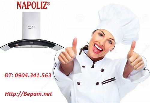 Cho 1 sự hoàn hảo tuyệt đối trong căn bếp với máy hút mùi Napoliz NA 90G9