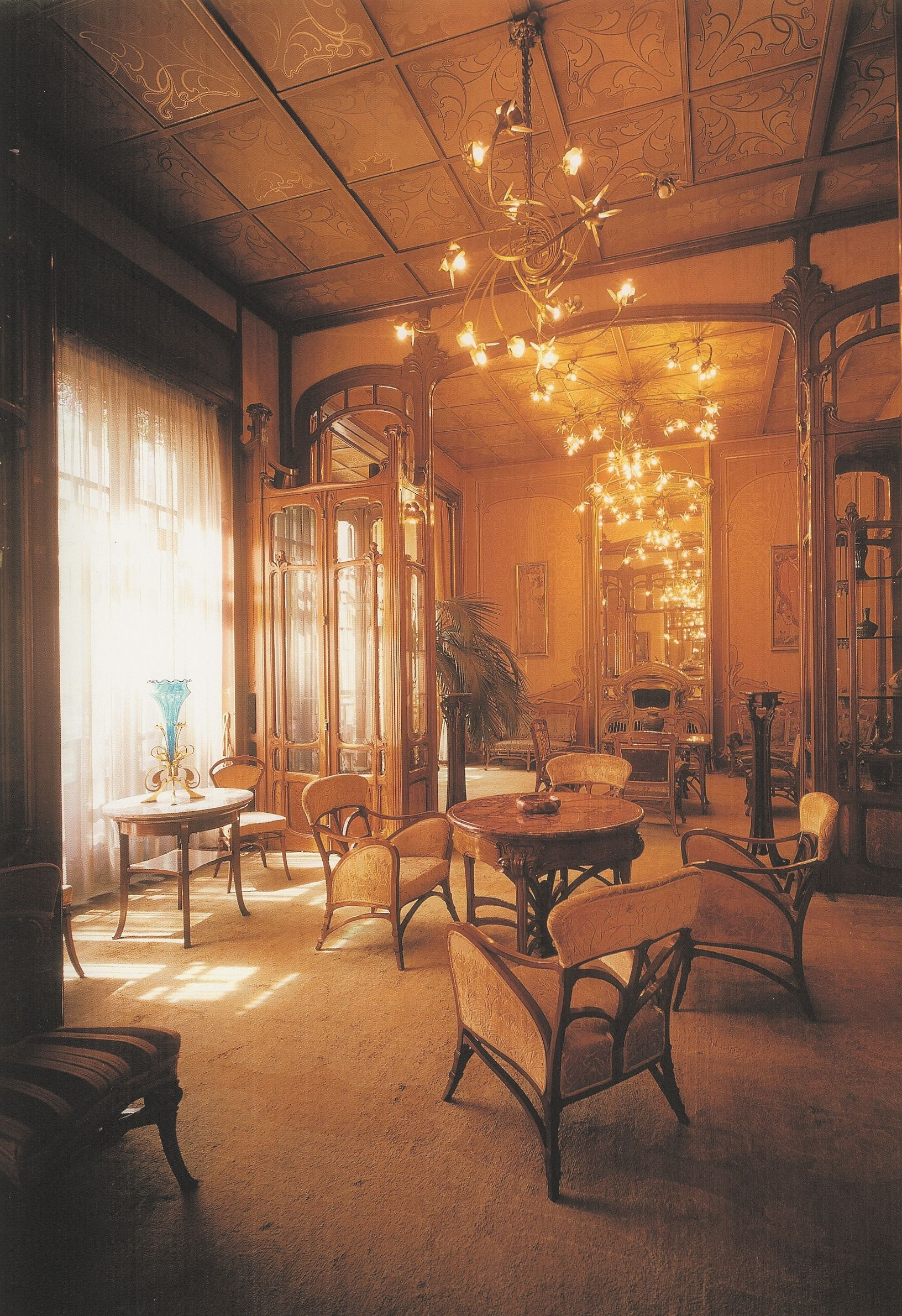 Victor horta house solvay brussel 1895 architecture for Interieur art nouveau