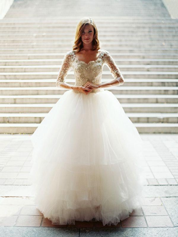 long sleeve sarhe nouri wedding gown httptrendybridenetsareh