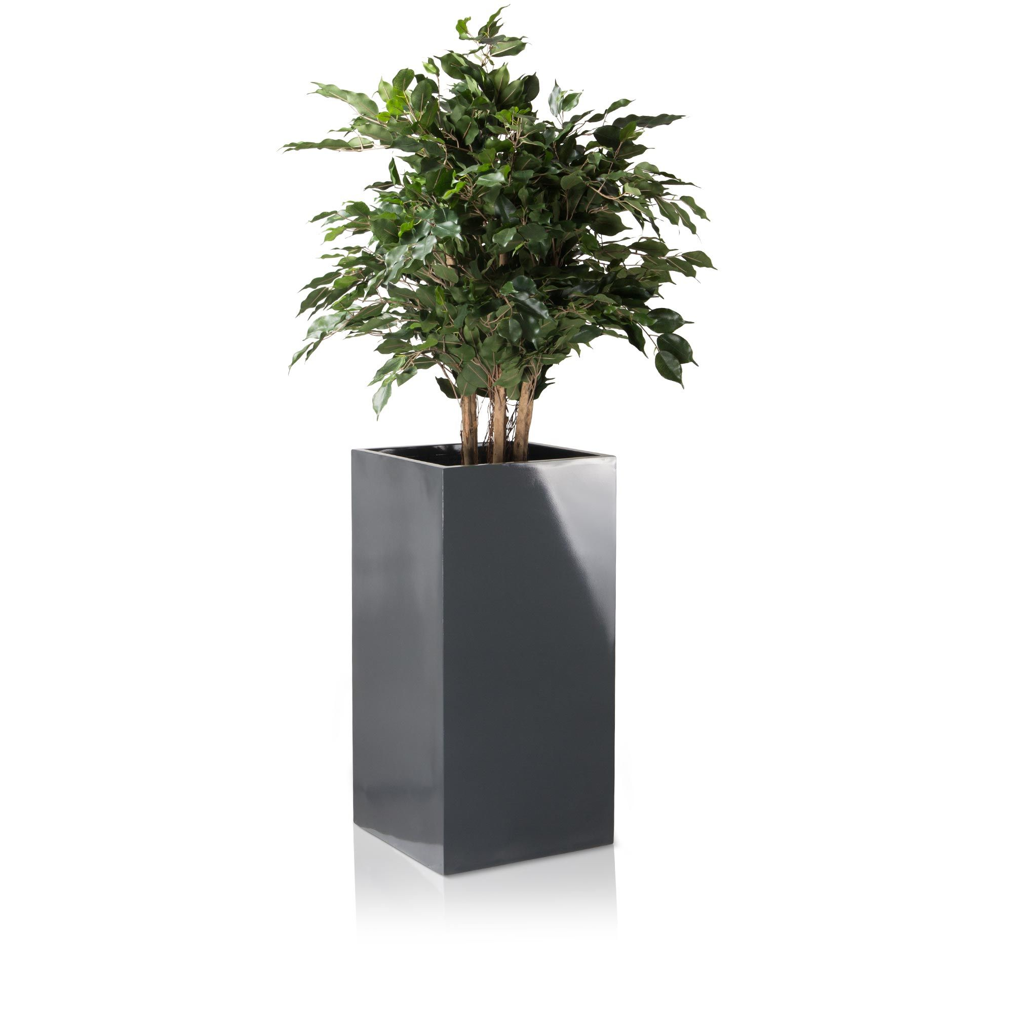 The Torre 80 Planter Is A Shining Fibreglass Plant Pot With A