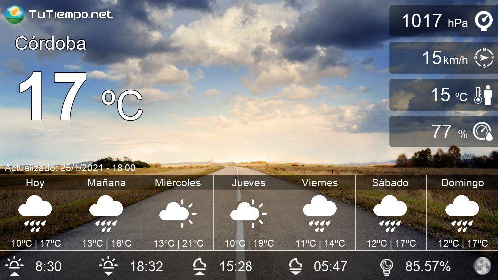 El Tiempo En Cordoba Pronostico 15 Dias In 2021 Valladolid Burgos Cadiz