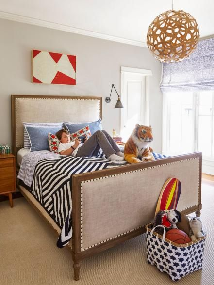 Home Decorating Inspiration From a Bold Texas Home | Boys ...