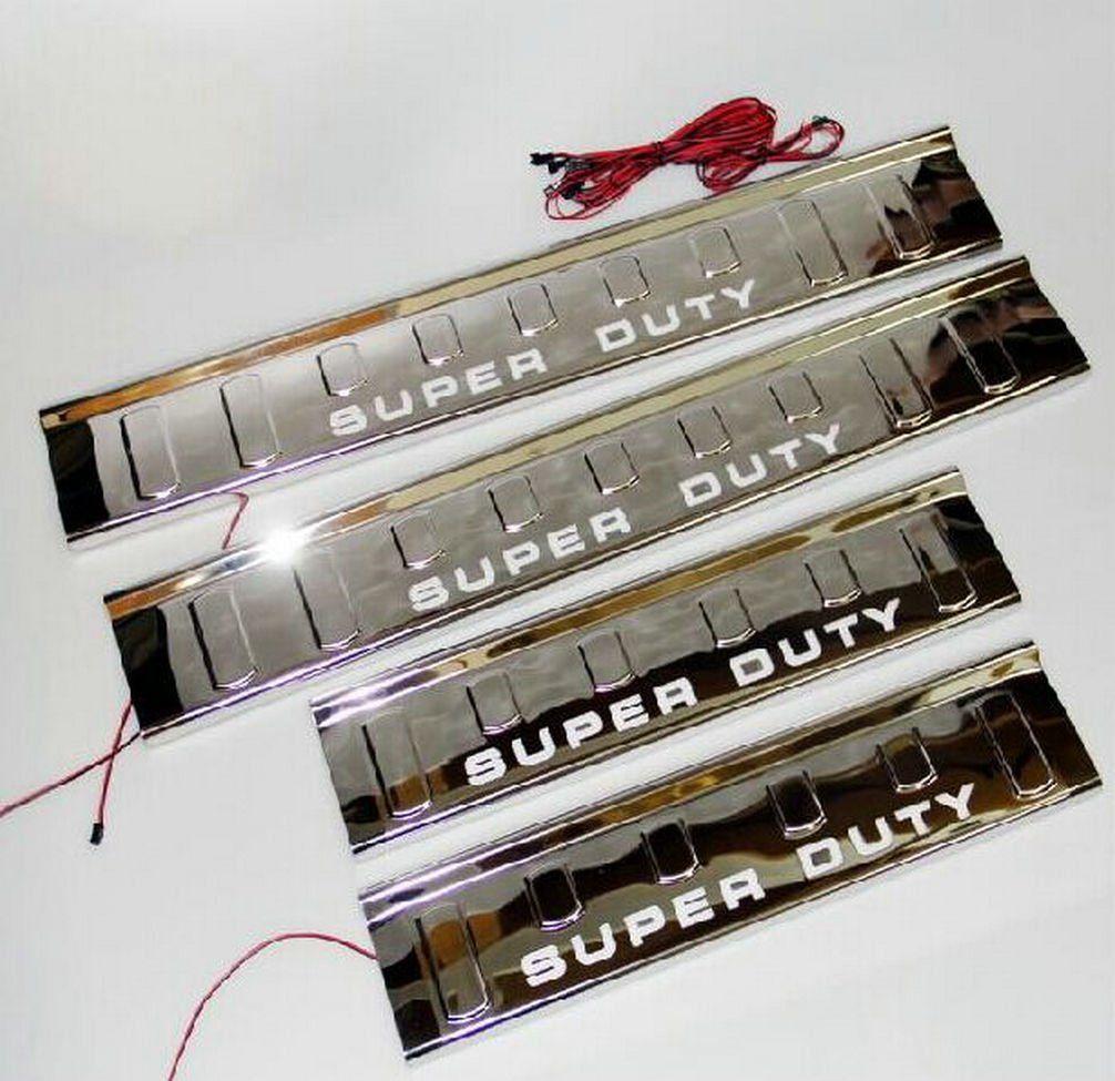 Amazon.com: Danti LED Blue Light Illuminated Door Sill