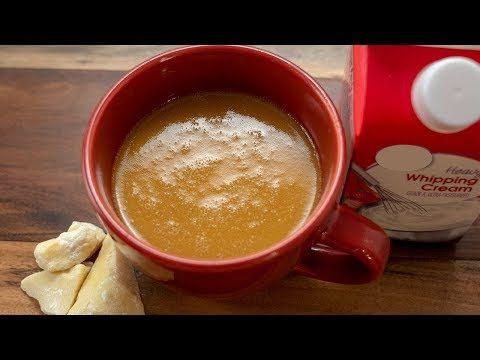 Keto White Chocolate Bulletproof Coffee - Lakanto ...