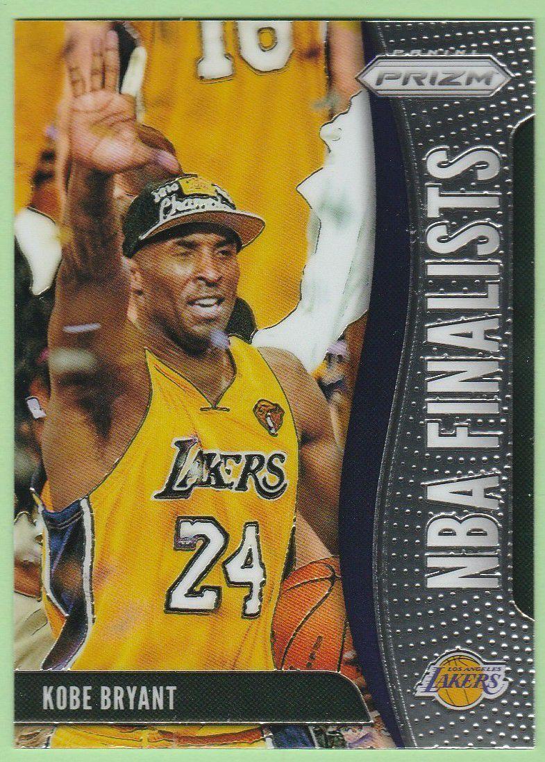 2019 20 Panini Prizm Insert Card Nba Finalists 9 Kobe Bryant Los Angeles Lakers Basketball Card Near Mint To Mi In 2020 Kobe Bryant Kobe Los Angeles Lakers Basketball