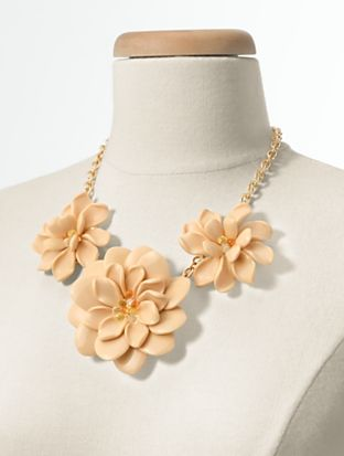 Talbots - Flower Necklace | New Arrivals | Discover your new look at Talbots. Shop our Flower Necklace for stylish clothing and accessories with a modern twist at Talbots