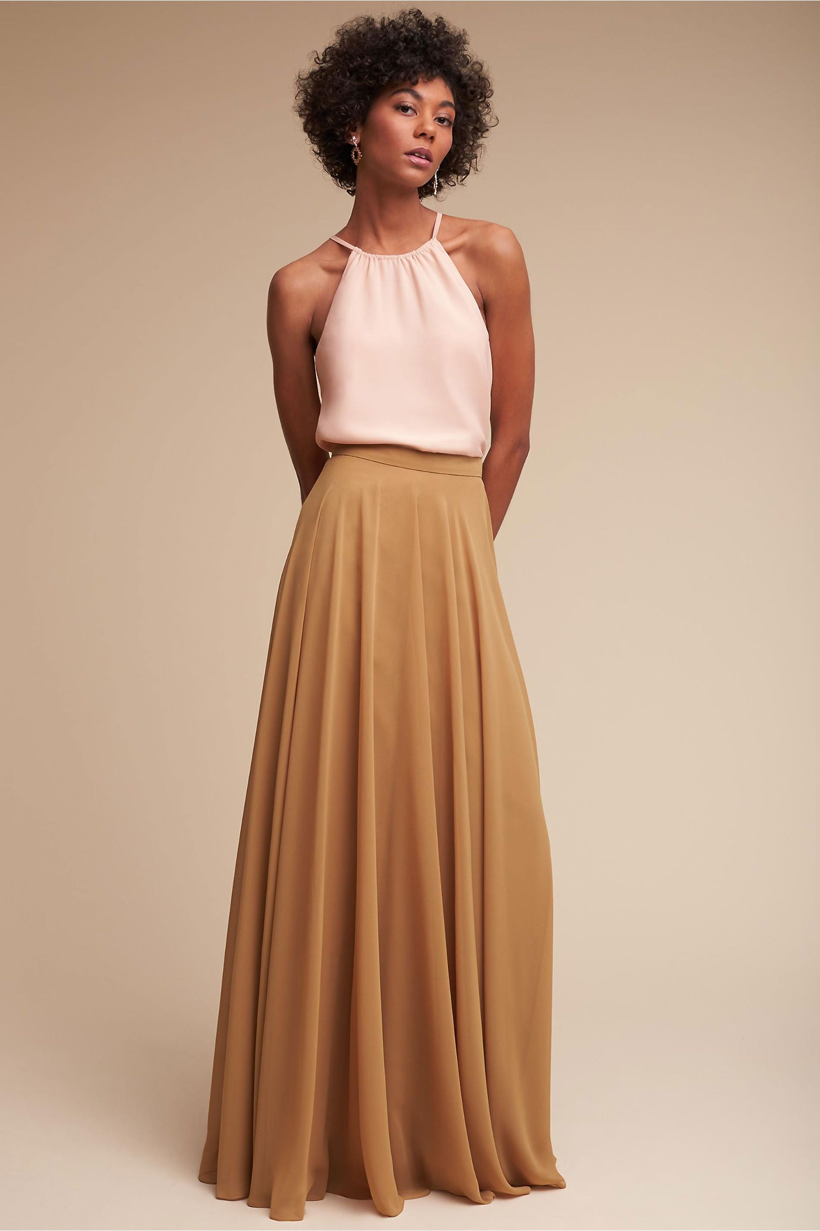 Bhldn hunter top u hampton skirt in bridesmaids view all dresses