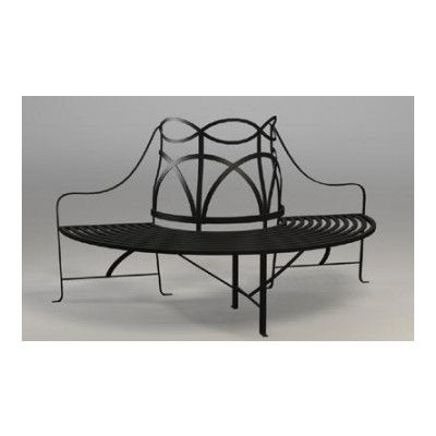 Regency Iron Tree Bench Tree Bench Wrought Iron Patio