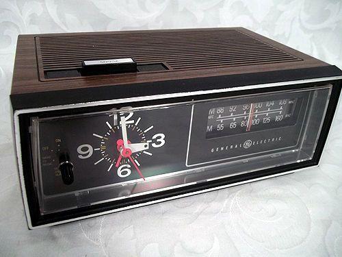 sold vtg ge general electric am fm clock radio model 7 4545c w rh pinterest com ge clock radio manual model70841a ge clock radio manual 7-4816b