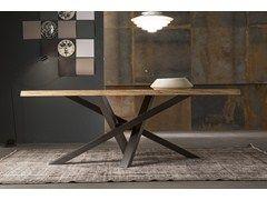 Tavolo shangai ~ Shangai furniture tables woodworking and steel