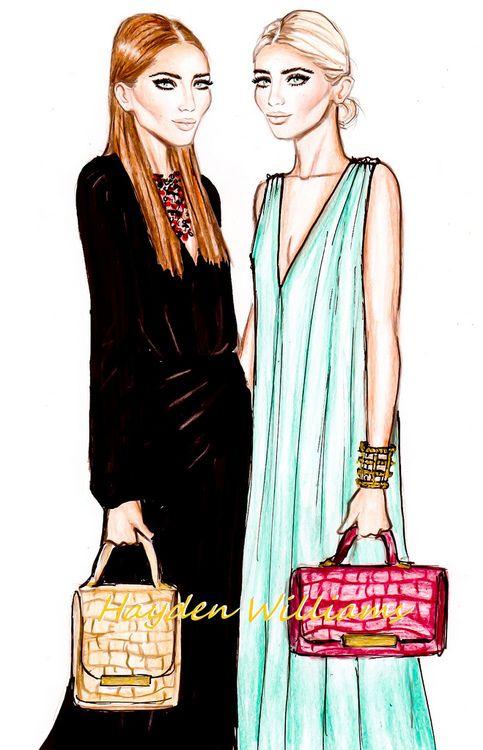 Happy Birthday Mary-Kate & Ashley! By Hayden Williams