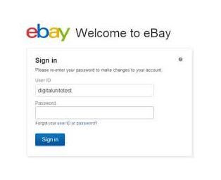 Ebay Login Ebay Sign In Online In 2020 Ebay Online Security Online