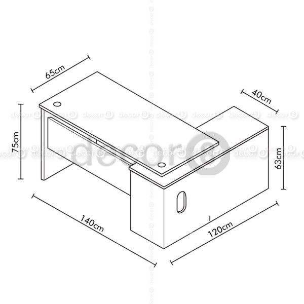 Image Result For Executive Table Dimension