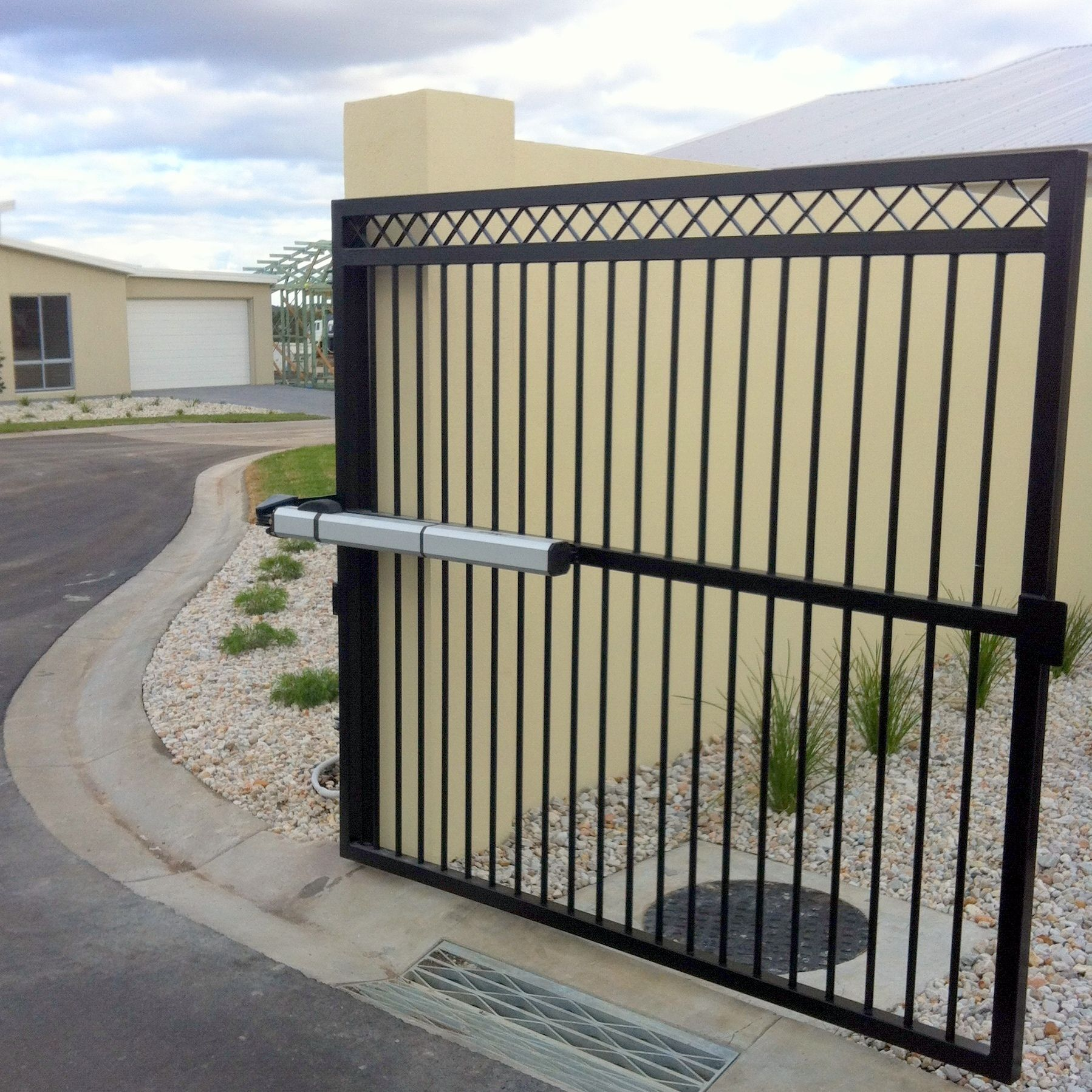 Custom Made Automatic Swing Gates The Motorised Gate