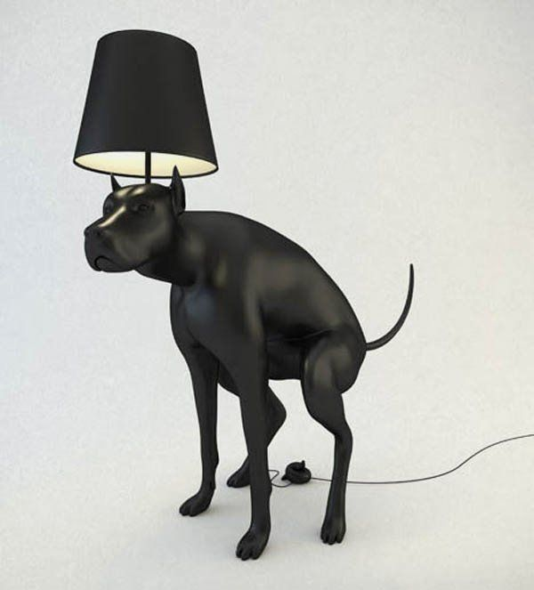 Pics of unusal lamps unusual lamp with dogs poop switch button pics of unusal lamps unusual lamp with dogs poop switch button pooping dog lamps aloadofball Images
