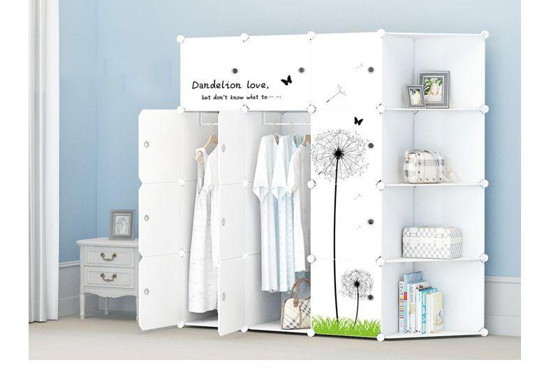 Freies Einkaufen Heißer Verkauf 24 Arten Von Einfachen Montage Von  Kunststoff Kleiderschrank, Haushaltsgegenstände
