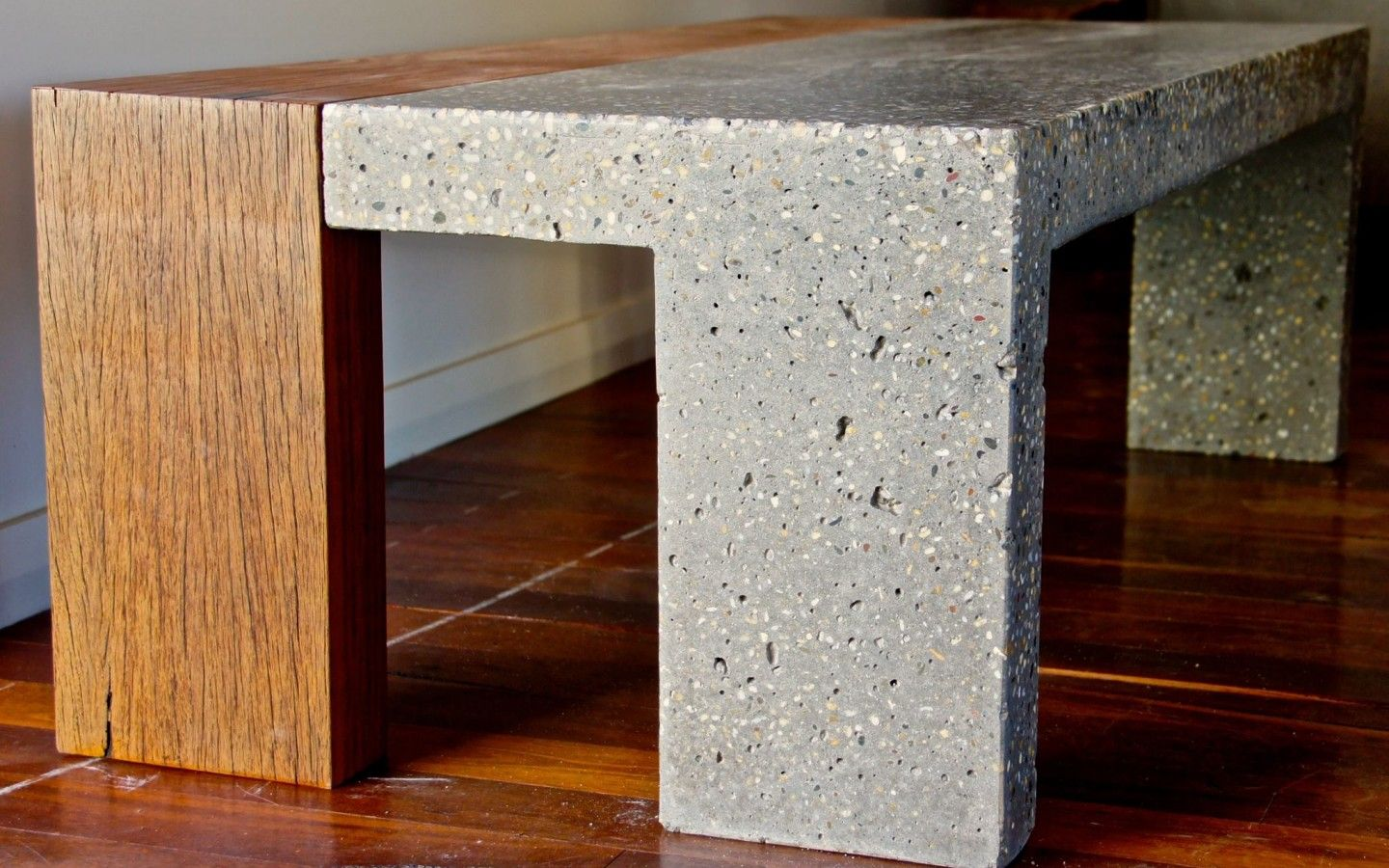 Custom polished concrete table made by Adelaide Outdoor Kitchens ...