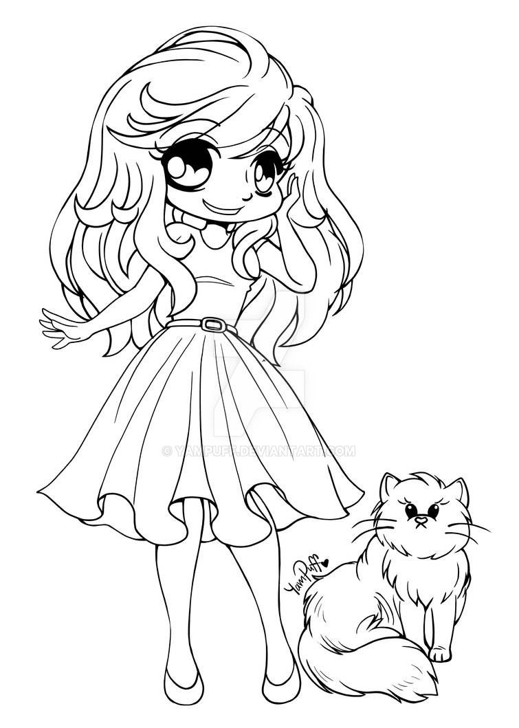 Alyce and Lila Bear ::Open Lineart:: by YamPuff on