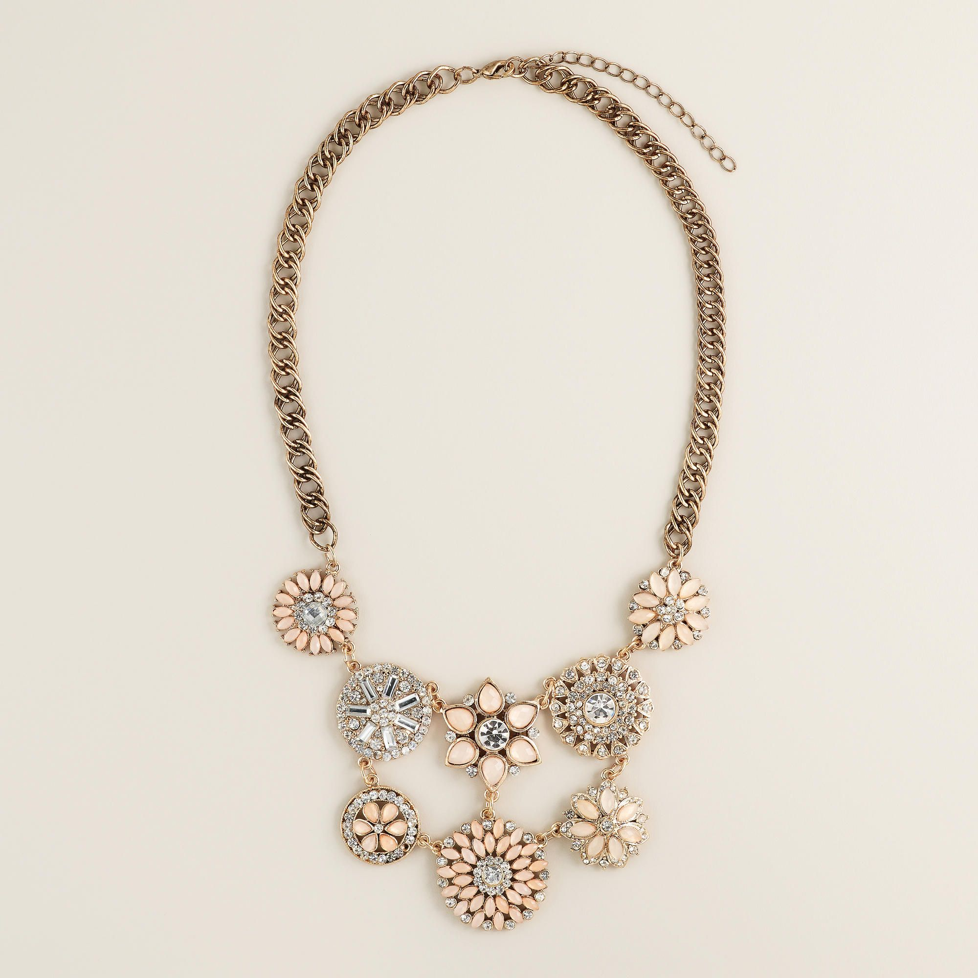 blush baublebar layered modesens product necklace bubblebeam collar