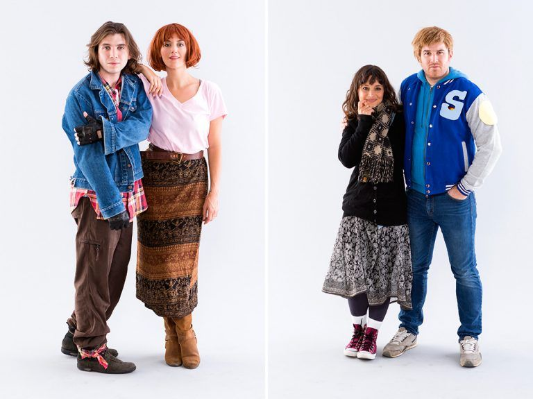 Head to Detention With This Breakfast Club Group Costume | Vestire ...