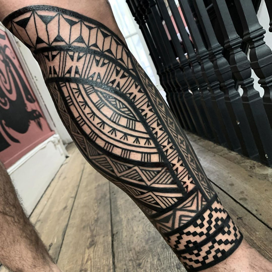 Tribals Tattoo By Chrishigginstattoo Inkstinct In 2020 Tribal Tattoos Tribal Tattoos