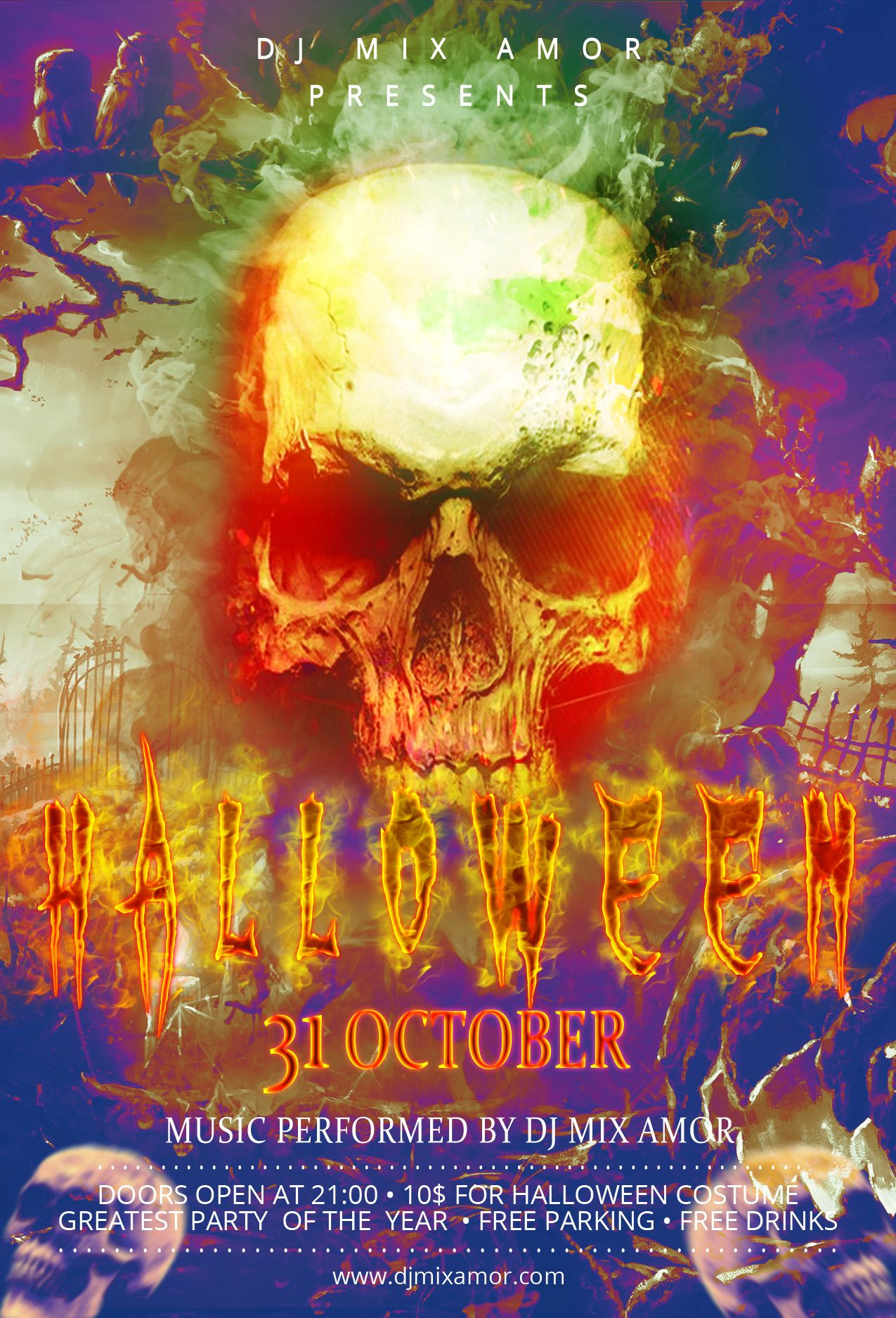 Ladies & Gentlemen...Don't be afraid, It's Halloween Party ...