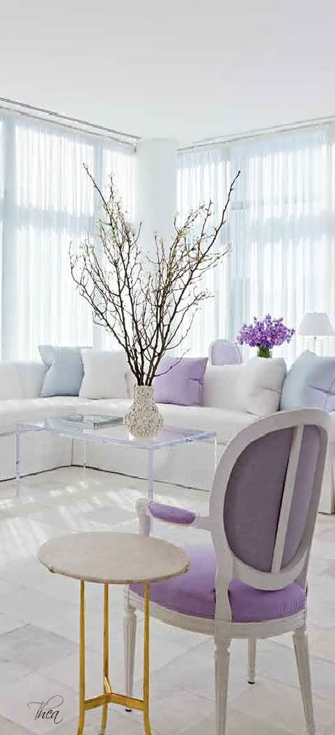 10 Most Popular Purple Living Room Accessories